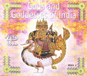 Gods and Goddesses of India(4CD SET)