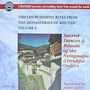 Tibetan Buddhist Rites From The Monasteries Of Bhutan Vol. II : Sacred Dances & Rituals